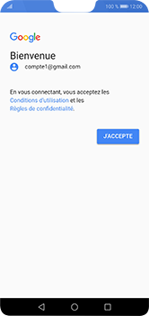 Huawei P20 Lite - E-mail - Configuration manuelle (gmail) - Étape 12