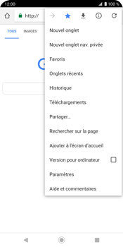 Sony Xperia XZ3 - Internet - navigation sur Internet - Étape 13