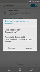 Sony Xperia E4g - Bluetooth - Conectar dispositivos a través de Bluetooth - Paso 7