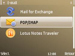 Nokia E72 - E-mail - Configuration manuelle - Étape 10
