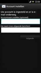 Sony Ericsson Xperia Arc met OS 4 ICS - E-mail - Handmatig instellen - Stap 17