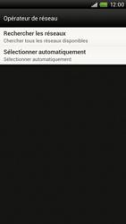 HTC S720e One X - Réseau - utilisation à l'étranger - Étape 9