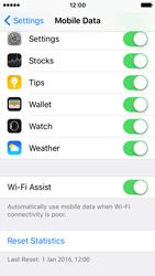 Apple iPhone SE - Internet - Disable WiFi Assist - Step 5