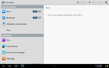 Samsung P5100 Galaxy Tab 2 10-1 - Internet - activer ou désactiver - Étape 4