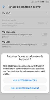 Huawei Mate 10 Pro - Internet et connexion - Utiliser le mode modem par USB - Étape 6