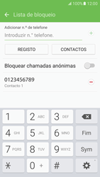 Samsung Galaxy S7 - Chamadas - Bloquear chamadas de um número -  11
