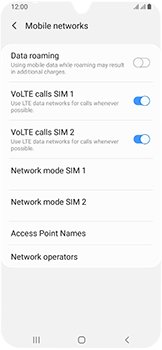 Samsung Galaxy A40 - Network - Manually select a network - Step 6