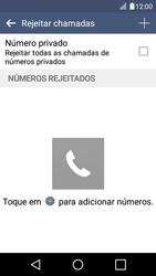 LG K4 - Chamadas - Como bloquear chamadas de um número -  7