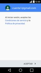 LG Leon - E-mail - Configurar Gmail - Paso 14