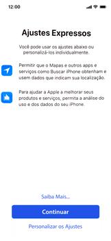 Apple iPhone XR - Primeiros passos - Como ativar seu aparelho - Etapa 19
