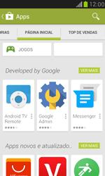 Samsung I8190 Galaxy S III Mini - Aplicativos - Como baixar aplicativos - Etapa 5