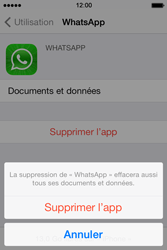 Apple iPhone 4S - Applications - Supprimer une application - Étape 7