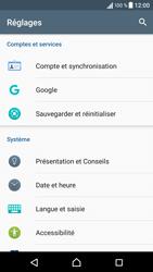Sony Sony Xperia E5 (F3313) - Appareil - Réinitialisation de la configuration d