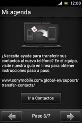 Sony Xperia E - Primeros pasos - Activar el equipo - Paso 9