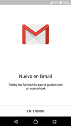 Sony Xperia XA1 - E-mail - Configurar Gmail - Paso 5