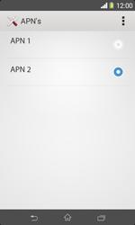 Sony D2005 Xperia E1 - Internet - Handmatig instellen - Stap 19