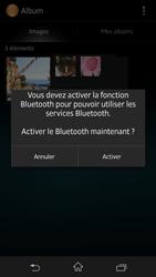 Sony Xpéria Z - Photos, vidéos, musique - Envoyer une photo via Bluetooth - Étape 10