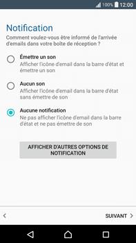Sony F3211 Xperia XA Ultra - E-mail - Configuration manuelle - Étape 21