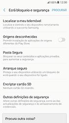 Samsung Galaxy A5 (2017) - Segurança - Como ativar o código PIN do cartão de telemóvel -  5