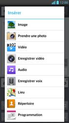 LG Optimus F5 - Contact, Appels, SMS/MMS - Envoyer un MMS - Étape 9