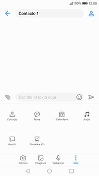 Huawei P10 Plus - Mensajería - Escribir y enviar un mensaje multimedia - Paso 10