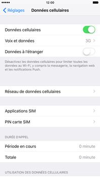 Apple iPhone 6s Plus - Internet et connexion - Activer la 4G - Étape 4