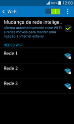 Samsung Galaxy Core II - Wi-Fi - Ligar a uma rede Wi-Fi -  6