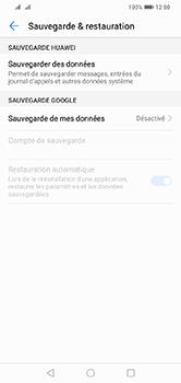 Huawei Y7 (2019) - Données - créer une sauvegarde avec votre compte - Étape 5