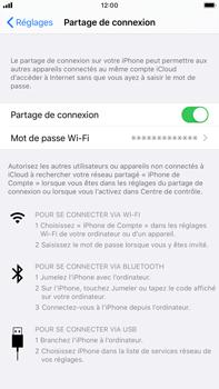 Apple iPhone 8 Plus - iOS 13 - Internet - comment configurer un point d'accès mobile - Étape 8