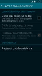 Samsung G900F Galaxy S5 - Funções básicas - Como restaurar as configurações originais do seu aparelho - Etapa 7
