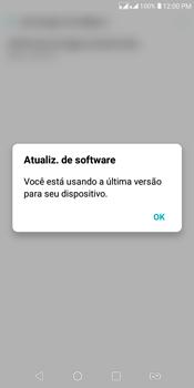 LG K12+ - Funções básicas - Como atualizar o software do seu aparelho - Etapa 7
