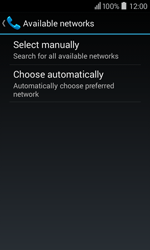 Acer Liquid Z200 - Network - Usage across the border - Step 7
