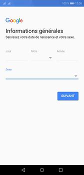 Huawei P20 - Applications - Créer un compte - Étape 8