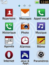 LG T385 - Contact, Appels, SMS/MMS - Envoyer un SMS - Étape 3