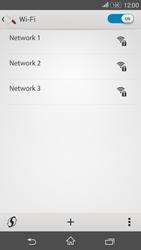 Sony E2003 Xperia E4 G - WiFi and Bluetooth - Manual configuration - Step 6