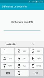Samsung Galaxy S6 - Sécuriser votre mobile - Activer le code de verrouillage - Étape 9