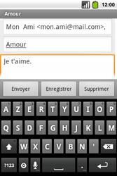 Alcatel OT-991 Smart - E-mail - Envoi d
