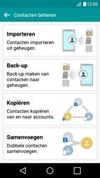 LG K4 - Contacten en data - Contacten kopiëren van toestel naar SIM - Stap 6