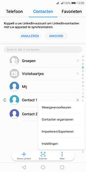 Huawei Mate 10 Pro Dual-SIM (Model BLA-L29) - Contacten en data - Contacten kopiëren van SIM naar toestel - Stap 4