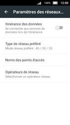 Doro 8031 - Internet et connexion - Activer la 4G - Étape 9