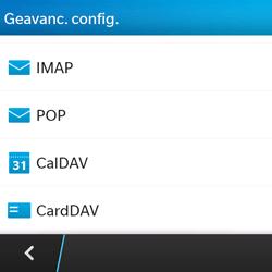 BlackBerry Q5 - E-mail - e-mail instellen: POP3 - Stap 7