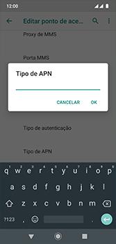 Motorola Moto G7 - Internet (APN) - Como configurar a internet do seu aparelho (APN Nextel) - Etapa 14