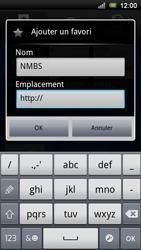 Sony Ericsson Xperia Ray - Internet - navigation sur Internet - Étape 9