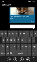 Microsoft Lumia 435 - MMS - Afbeeldingen verzenden - Stap 13