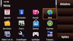 Nokia N97 Mini - Internet - Hoe te internetten - Stap 2