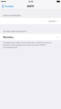 Apple Apple iPhone 6s Plus - iOS 10 - E-mail - Configuration manuelle - Étape 23