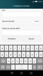 Huawei P8 Lite - E-mail - Configuration manuelle - Étape 12