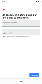 Nokia 3-1-plus-dual-sim-ta-1104-android-pie - E-mail - Account instellen (IMAP met SMTP-verificatie) - Stap 19