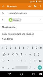 Acer Liquid Zest 4G - E-mail - Envoi d
