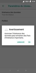 Alcatel 1X - Aller plus loin - Désactiver les données à l'étranger - Étape 8